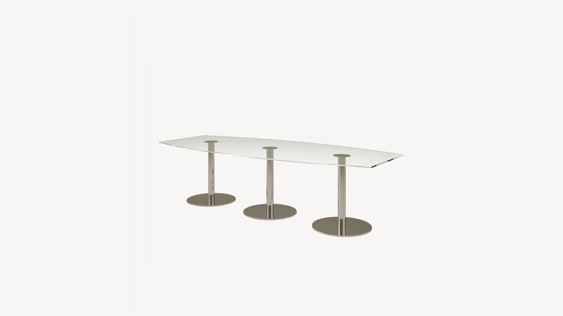 Bosse runder Tisch B-Desk, 280 cm