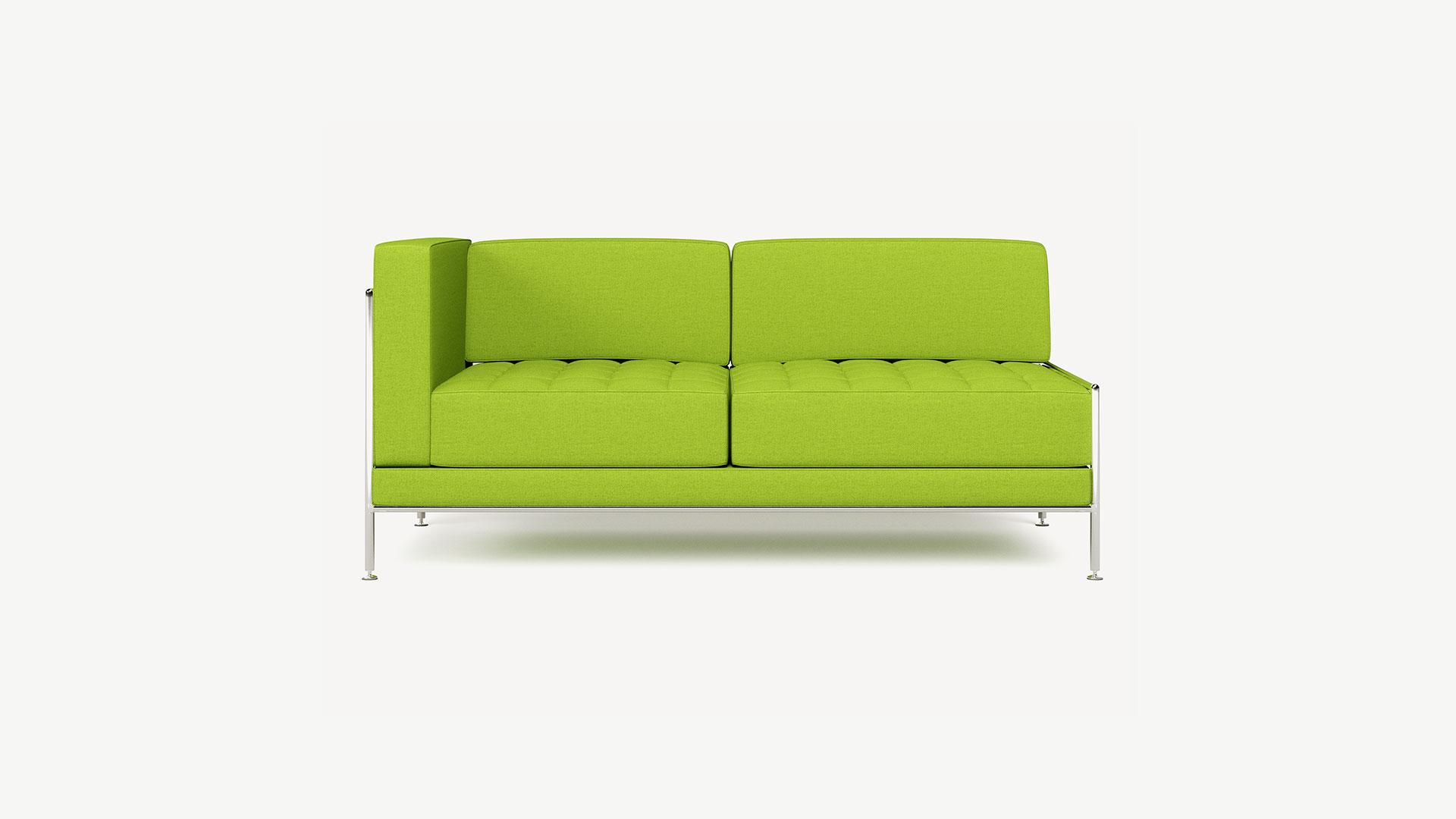 Bosse 2-Sitzer Sofa Dialounge, einseitige Armlehne