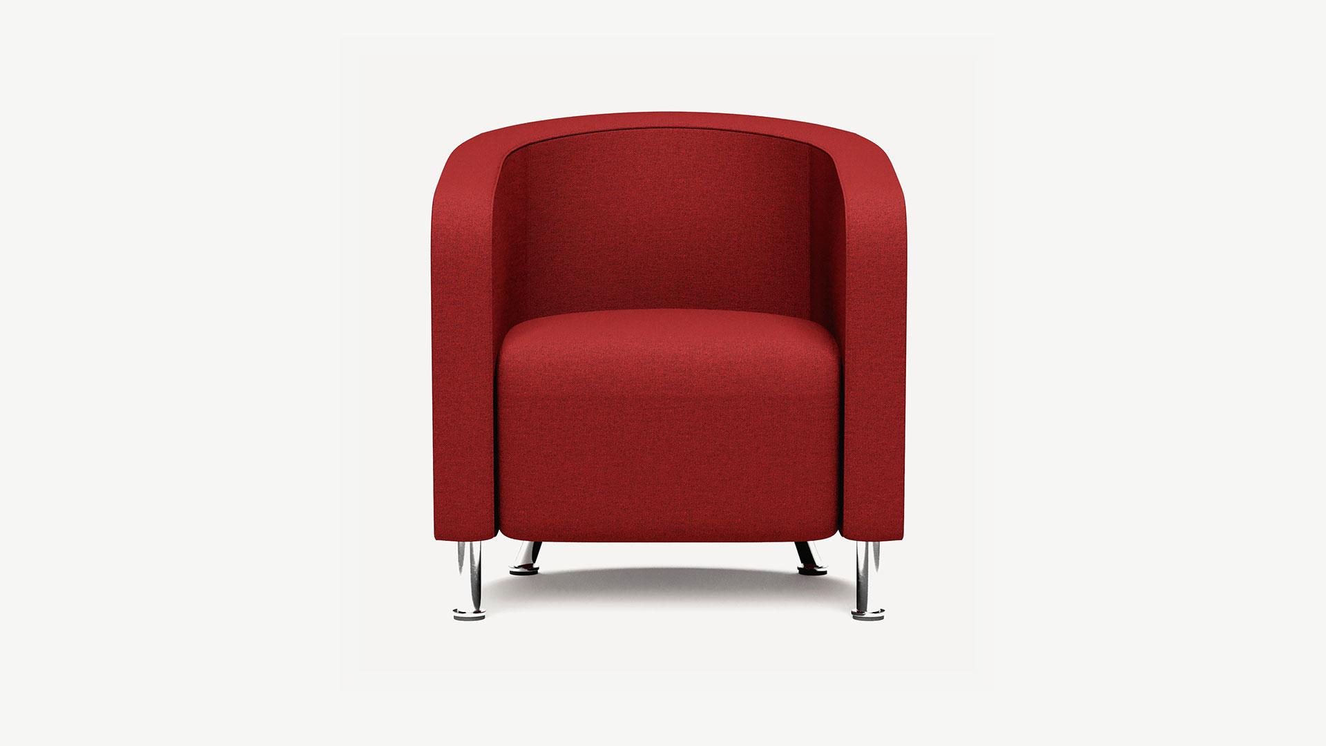Dauphin_Sessel_dunkelrot_Clubchair_1