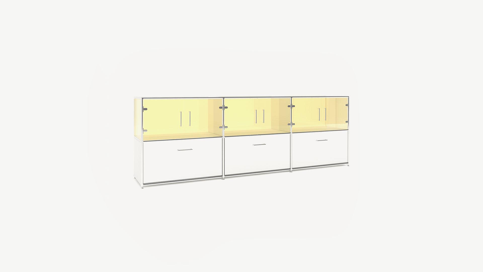 Bosse Sideboard 2 OH, Glas