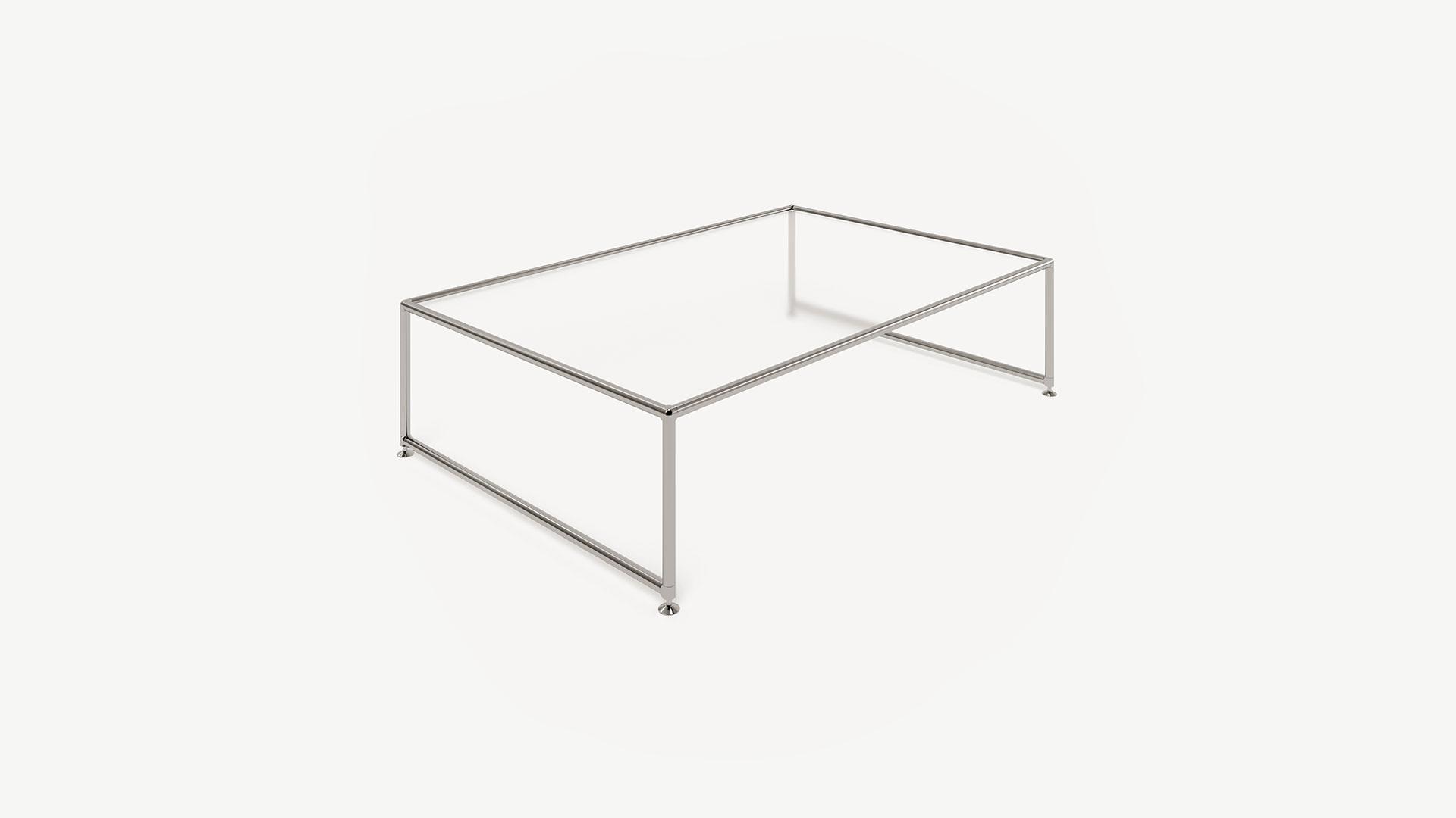 Tisch Beistelltisch rechteckig groß - BOSSE