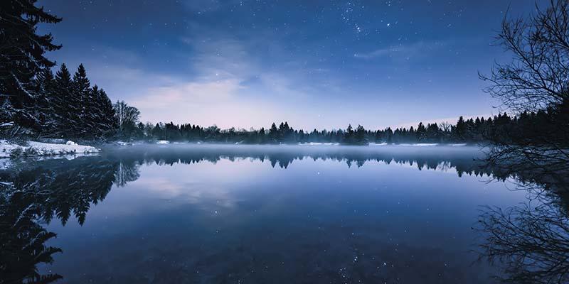 Wandtapeten Glistening Stars - KOMAR