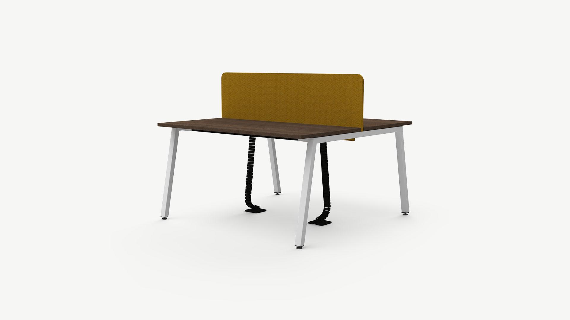 Nowy Styl manuell höhenverstellbare beidseitige Schreibtisch Kombi CS5040, A-Beine