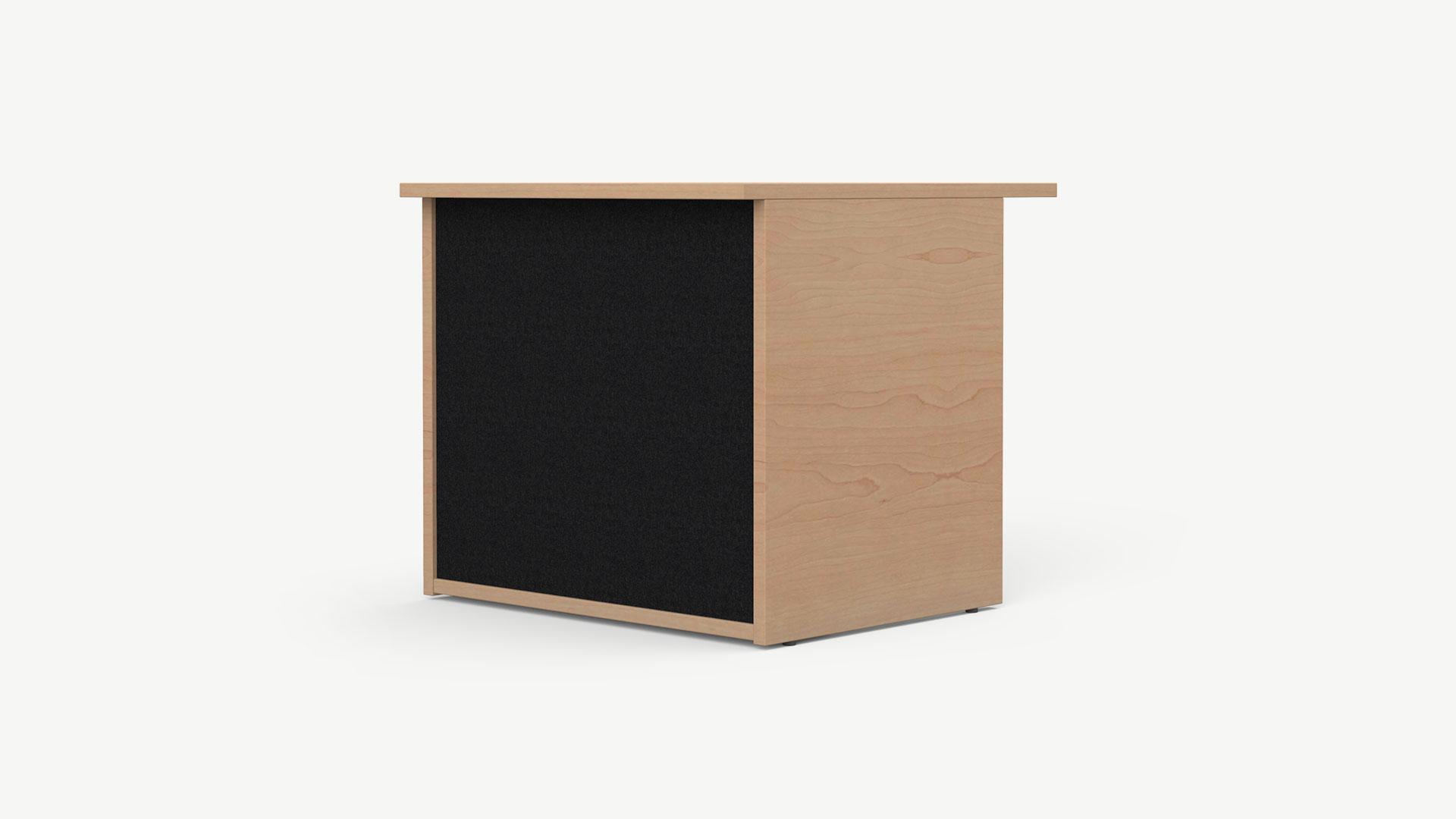 Nowy Styl niedrige Theke Velum, rechteckige Tischplatte